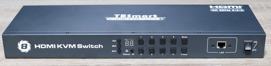 TESmart TES-HKS0801A1U Front